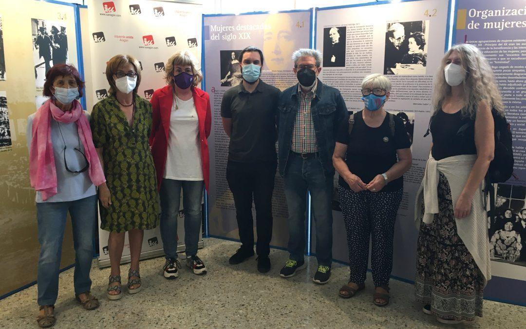 Exposición 'El voto femenino en España' en el Espacio Rosa Luxemburgo