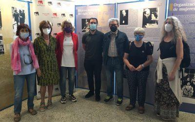 Inauguramos la exposición 'El voto femenino en España' recordando que el sistema patriarcal avanza hoy gracias a la ultraderecha