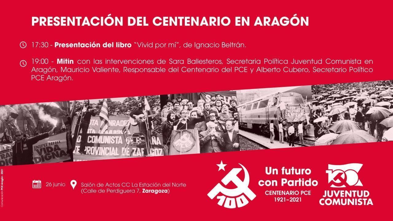 Presentación del Centenario del PCE