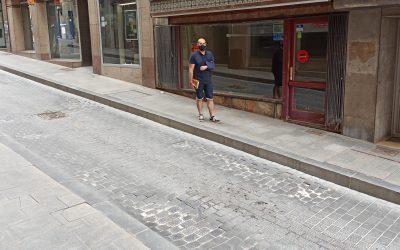Ganar Teruel-IU solicitará la reparación y pavimentación de la Calle Nueva