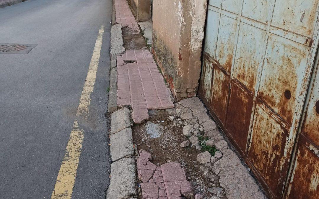 Ganar Teruel solicitará actuaciones de mantenimiento en varias calles del Barrio San Julián