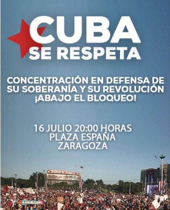 El bloqueo económico es lo que asfixia al Pueblo Cubano en plena pandemia