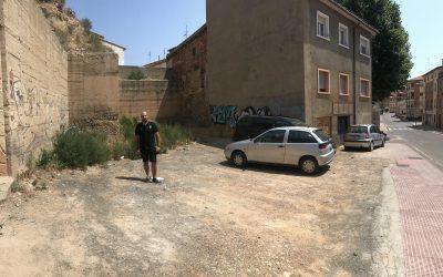 Ganar Teruel propondrá una prueba piloto para el plan de reacondicionamiento de solares en el barrio de San Julián