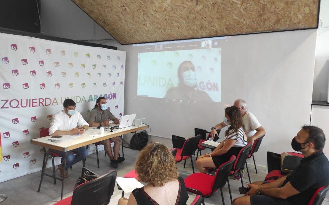 """Culminaremos nuestra XIII Asamblea autonómica el 27 de noviembre con la mirada puesta en """"una alternativa social para Aragón"""""""