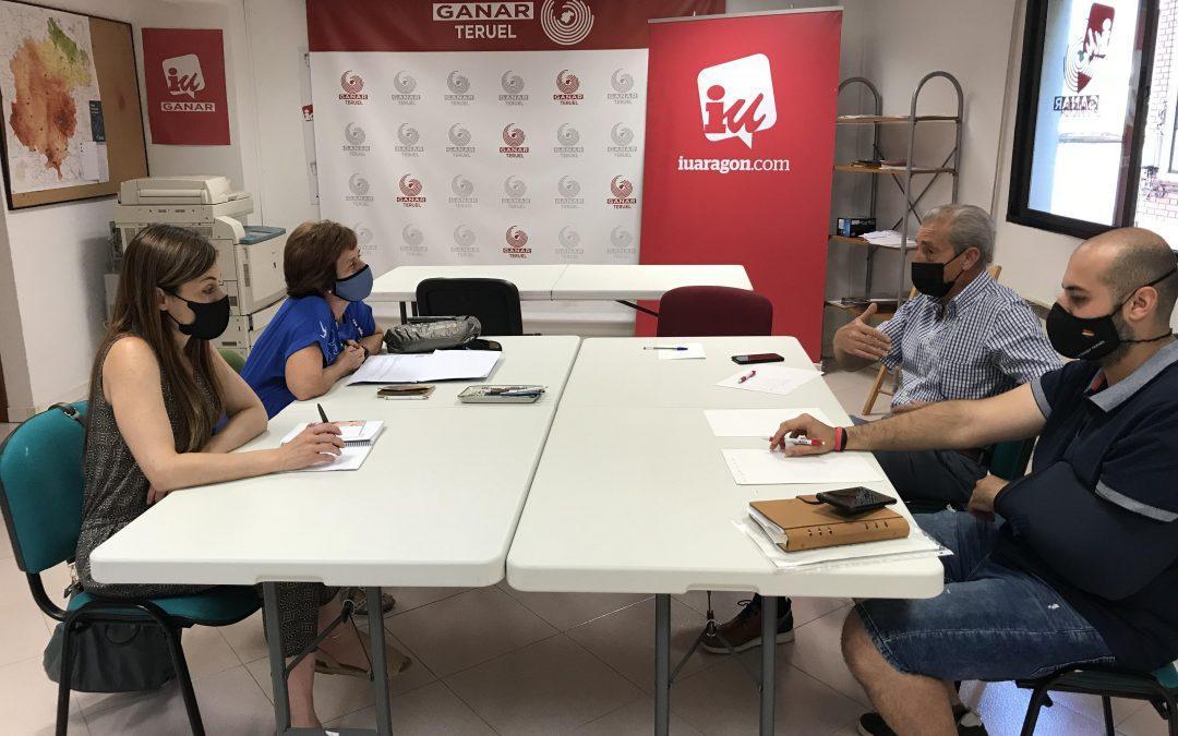 Ganar Teruel – IU se reúne con las asociaciones ACACIA y ALARA para profundizar en el estado del patrimonio arbóreo y cultural de la ciudad