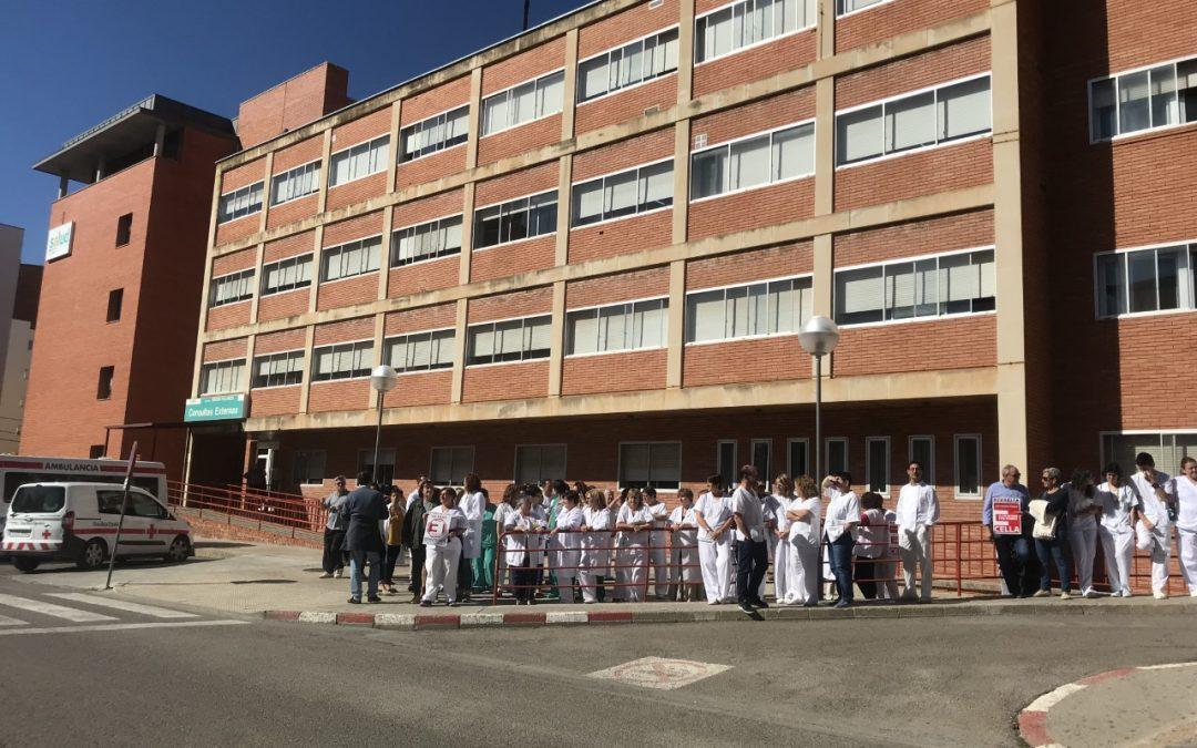 Ganar – IU reclama soluciones urgentes a la falta de personal en el Obispo Polanco