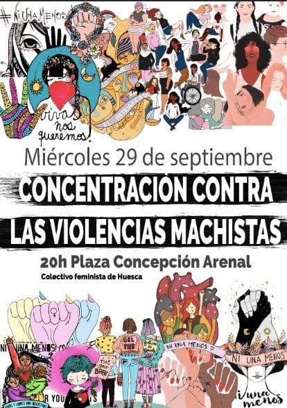 Concentración contra las violencias machistas