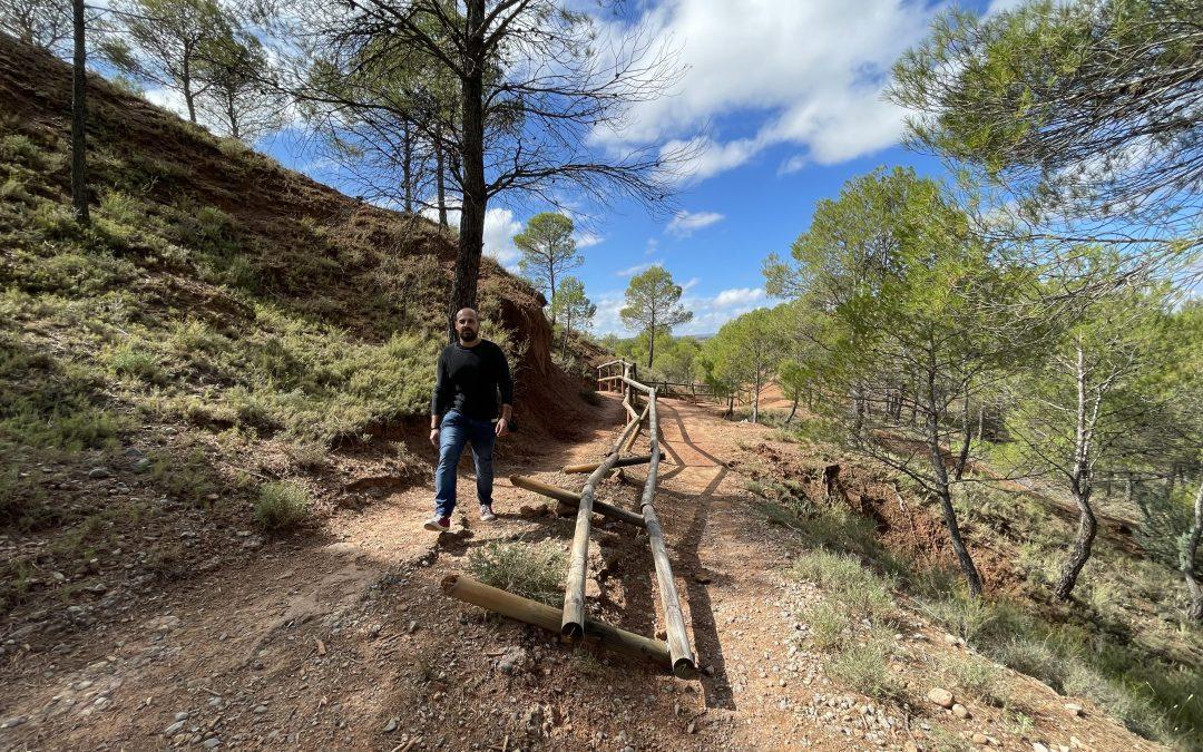 Ganar Teruel- IU Teruel critica el estado del Parque Natural de Las Arcillas