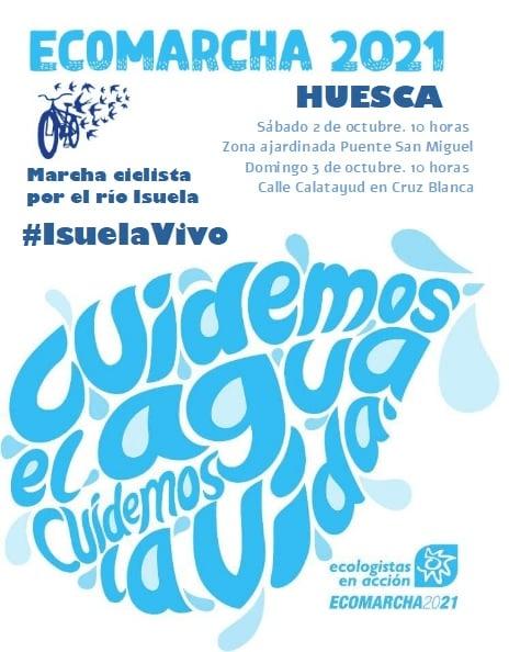 Ecomarcha 2021: Marcha ciclista por el río Isuela