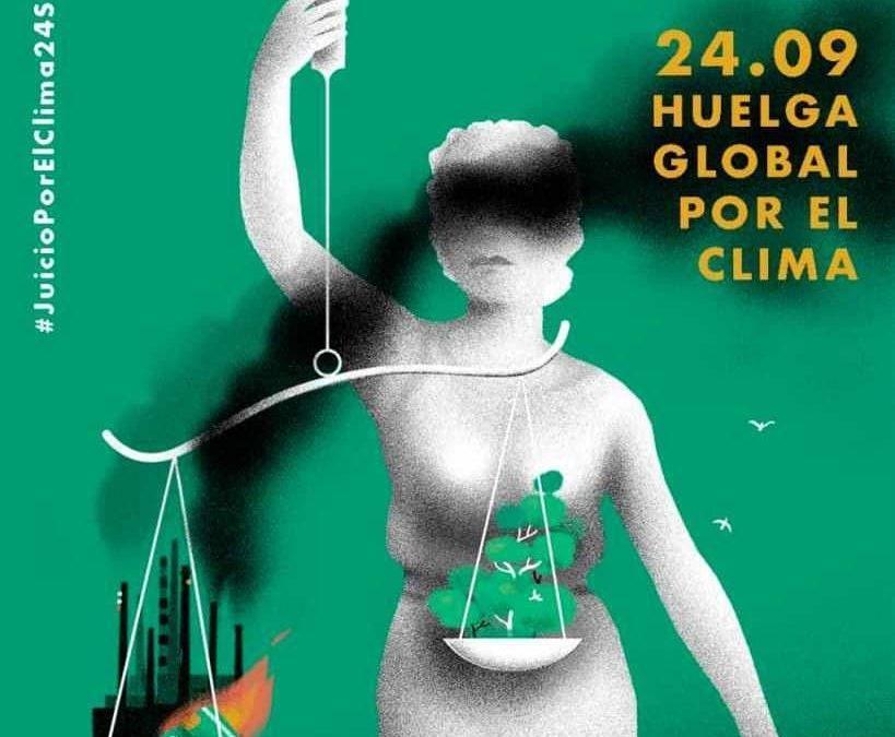 Apoyamos la Huelga Mundial por el Clima y hacemos un llamamiento a participar en las movilizaciones