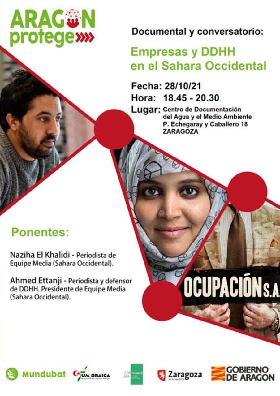 Documental y conversatorio: Empresas y DDHH en el Sahara Occidental