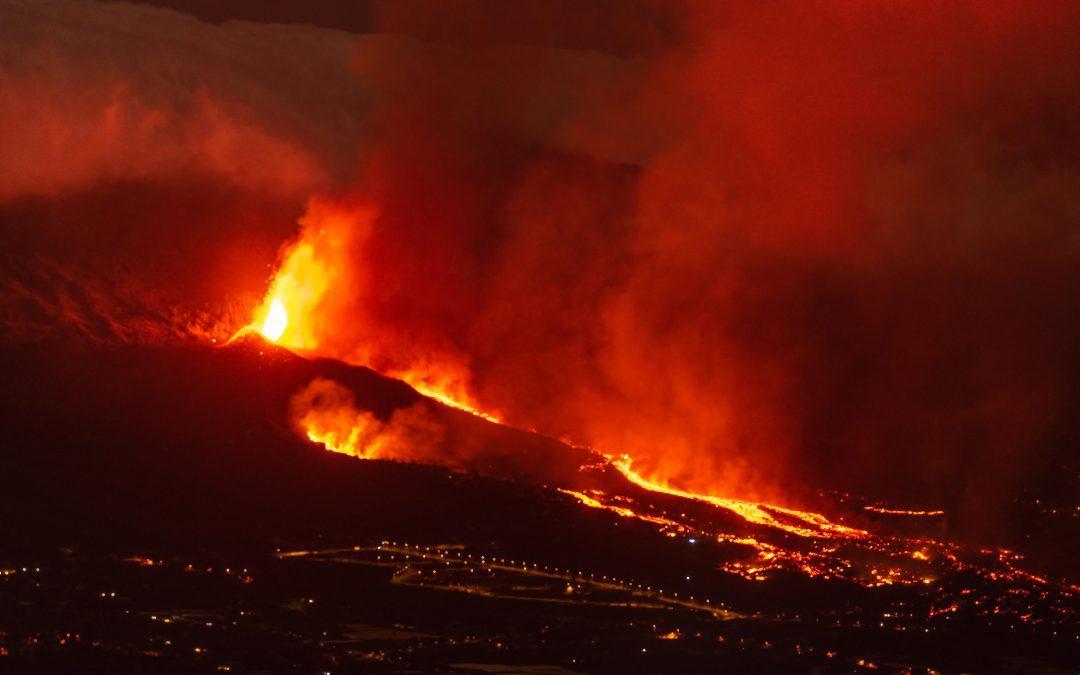 Ganar Teruel-IU presentará una moción para dotar de ayudas extraordinarias a entidades locales afectadas por el volcán de La palma