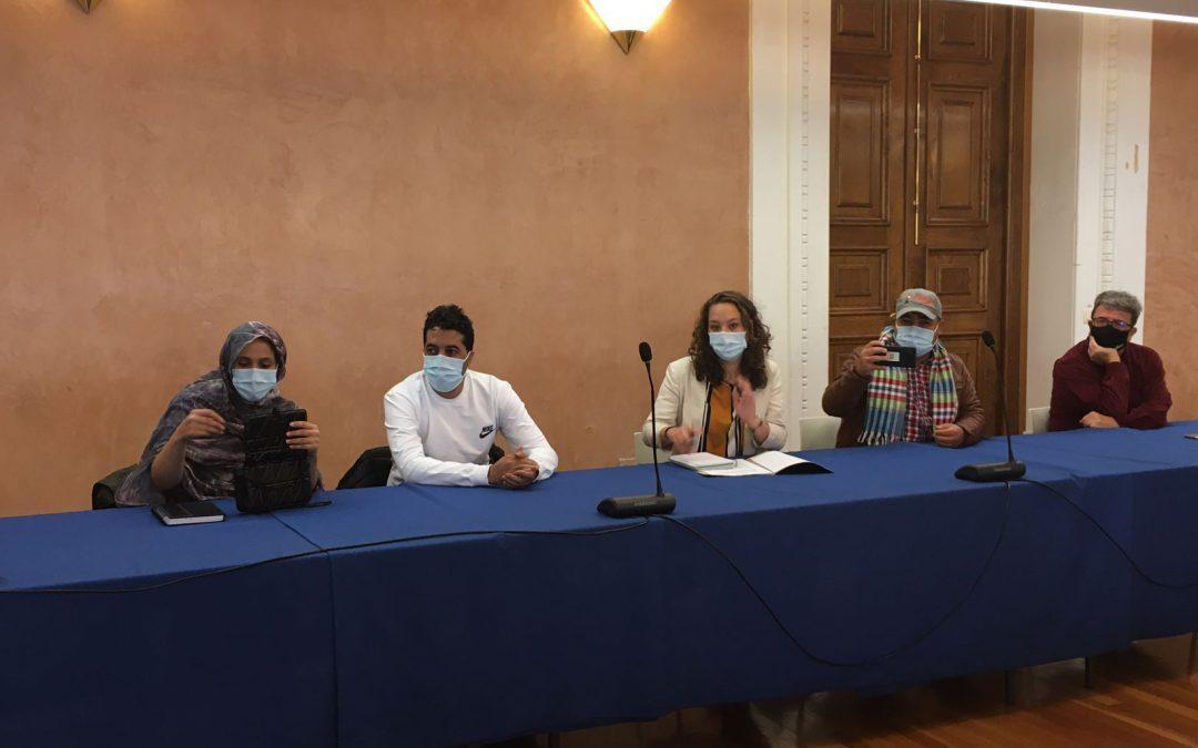 La Delegación de Solidaridad Internacional de DPZ se reúne con activistas de derechos humanos del Programa Aragón Protege