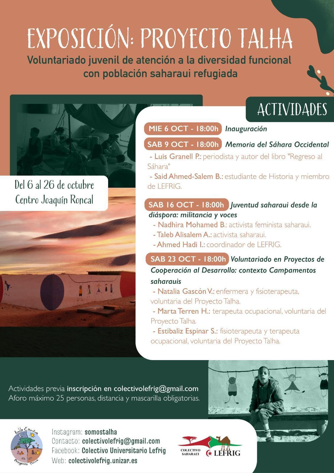 Exposición: Proyecto Talha